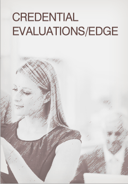Credential Evaluations/EDGE